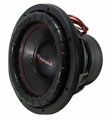 """2 12"""" 4000W 4 DVC Bass Bass XFL-12-D4"""