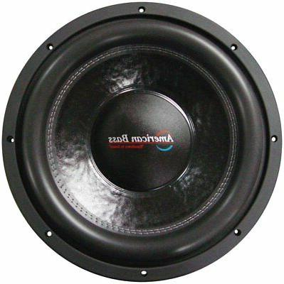 "12"" Car Audio Speaker American Bass 2000 Watt Voice"