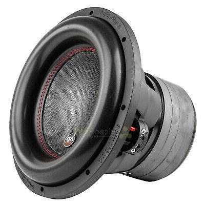 "12"" Subwoofer Dual 4 Ohm 1100 Watts Rms Car Audio Sub Audiop"