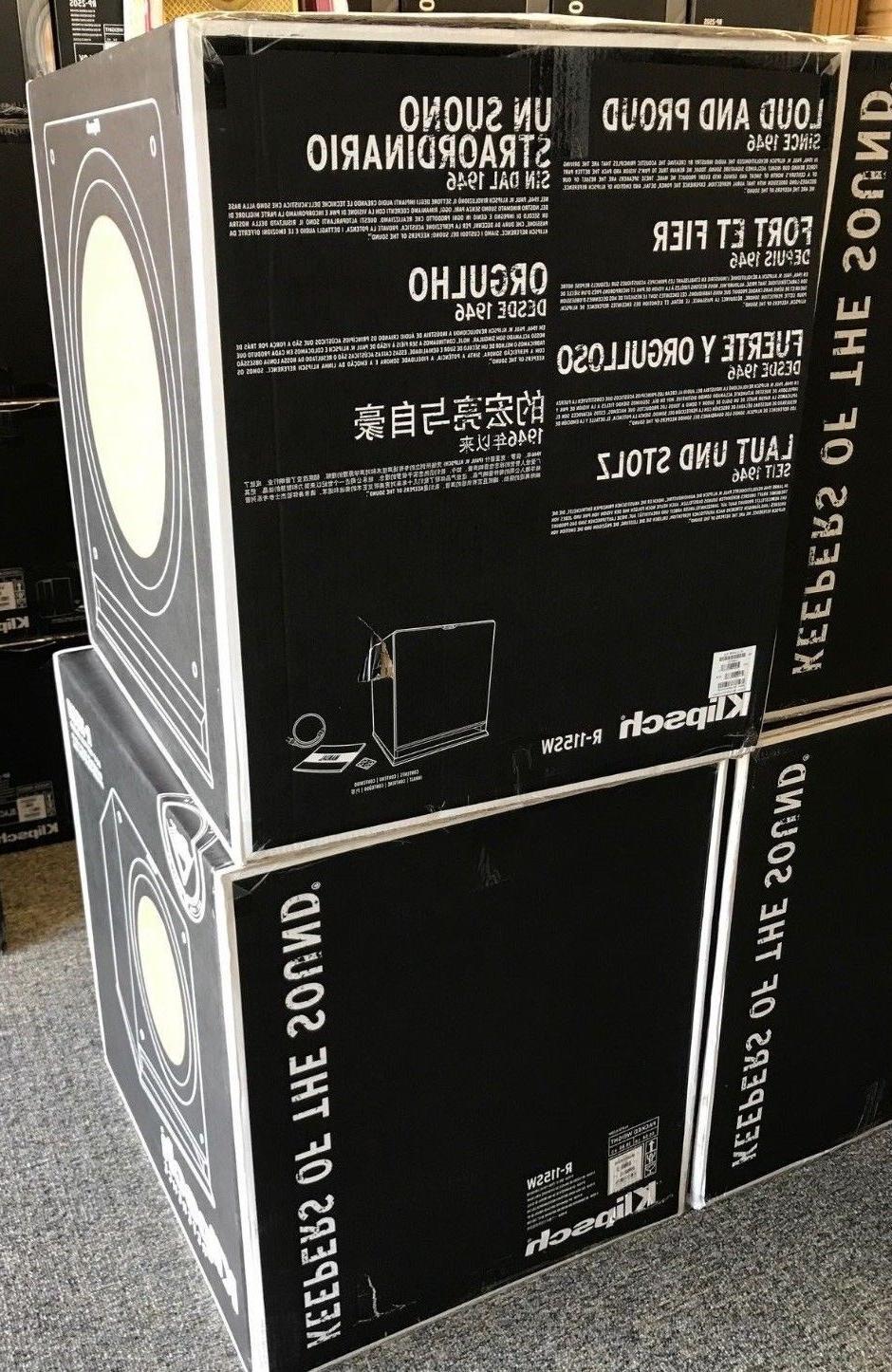 "Klipsch 15"" Black Powered Subwoofer - R-115SW New Box!"