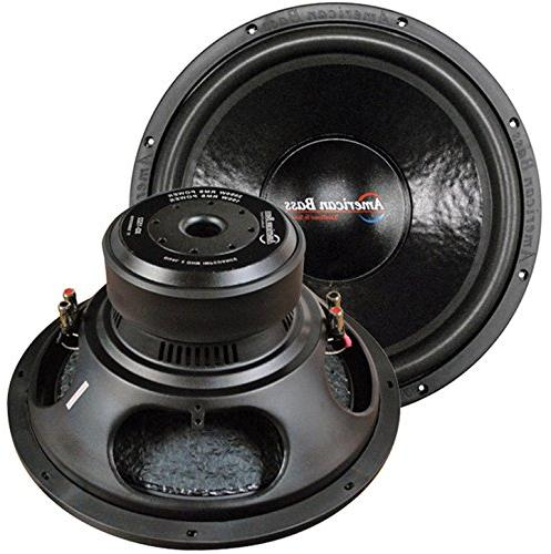 AMERICAN BASS  American Bass 15 Woofer 2000W Max 2 Ohm DVC