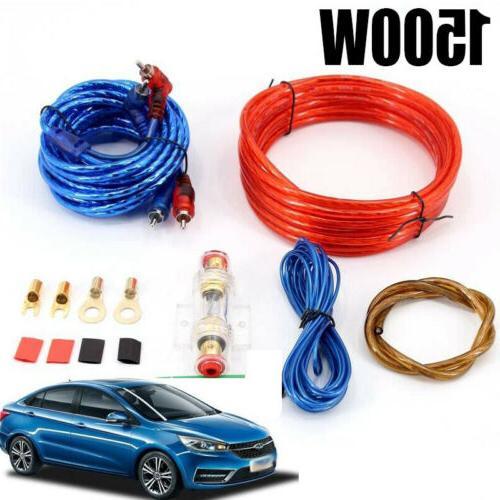 1500w 8GA Car Amplifier Wiring Kit Audio Subwoofer on cd player wiring kit, cable wiring kit, car wiring kit, subwoofer connectors, speaker wiring kit, subwoofer grill, tv wiring kit, subwoofer capacitor, subwoofer plug, sub wiring kit, subwoofer enclosures, daytime running lights wiring kit, subwoofer speakers, subwoofer box, stereo wiring kit, audio wiring kit, subwoofer amplifier, subwoofer cover, amplifier wiring kit, subwoofer fuse,