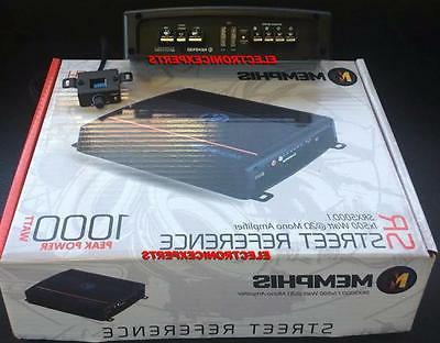 New Memphis 1000 Monoblock Amp