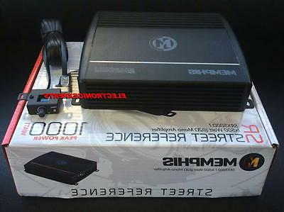 New Memphis Watt Max Monoblock Amp