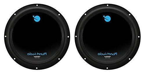 "2) PLANET AUDIO AC10D 10"" Car Subs+2600W 2"