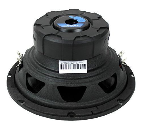 2) Planet Audio AC8D 2400 Watt Car Subwoofer Woofer DVC 4