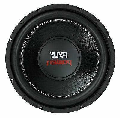 "PYLE PLPW12D 12"" 1600W 4Ohm DVC Black Car Stereo Audio Power"