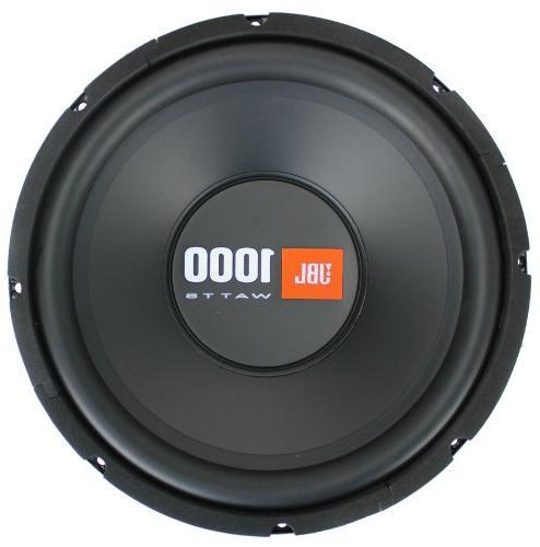 """2 JBL 12"""" 2000W Car Ohm Black"""