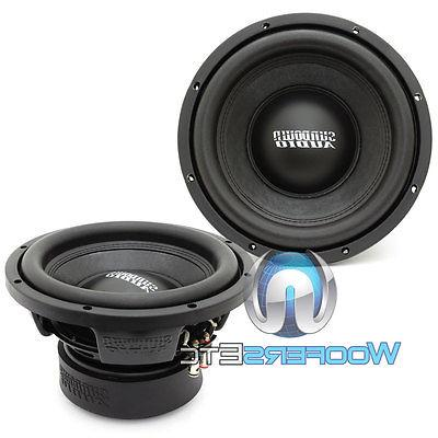 """AUDIO V.3 D4 10"""" 500W RMS SUBWOOFERS SPEAKERS"""