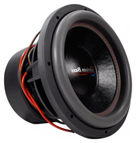 "American Bass HD12D2 HD 12"" 3000w Competition Car Subwoofer"
