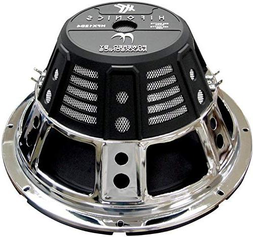 2) HIFONICS HFX12D4 1600W Car Audio Subwoofers + Box