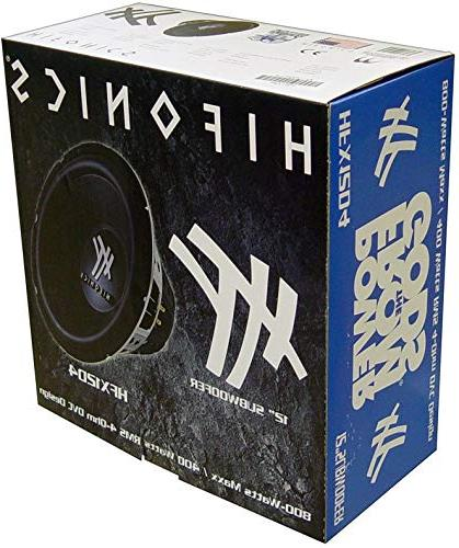 2) 1600W Audio Box