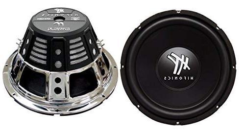 """2) HIFONICS HFX12D4 12"""" 1600W Car Subwoofers Box"""