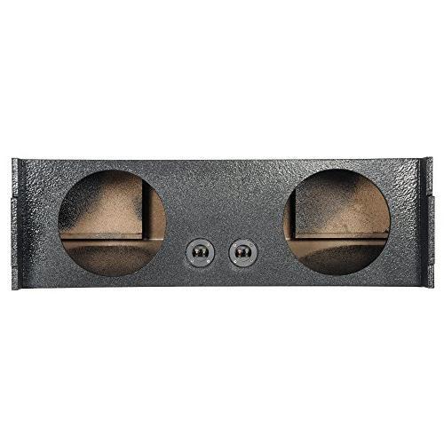 Q Power 2 Hole 10 Inch Car Audio Vented Subwoofer Enclosure