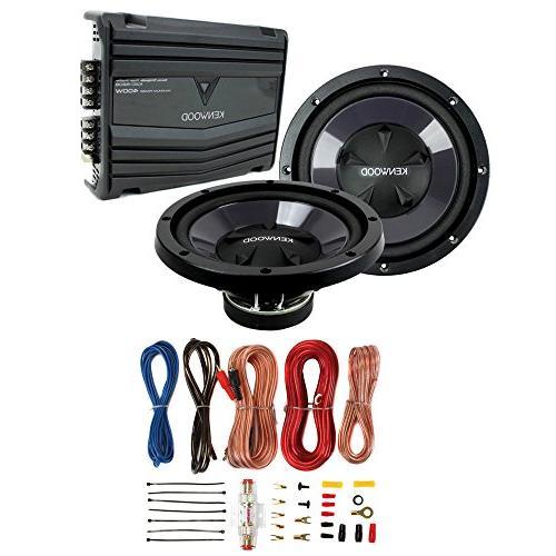 2 41DSC6934 6x9 360W 3-Way Car Speakers Kicker 41DSC354 3.5 80W 2-Way + 2