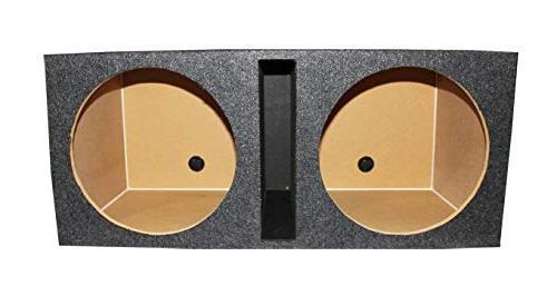2) POWER ACOUSTIK Woofers MOFO124X+ Box