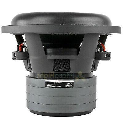 Audiopipe Dual 2 Ohm Subwoofer Max Quad Audio