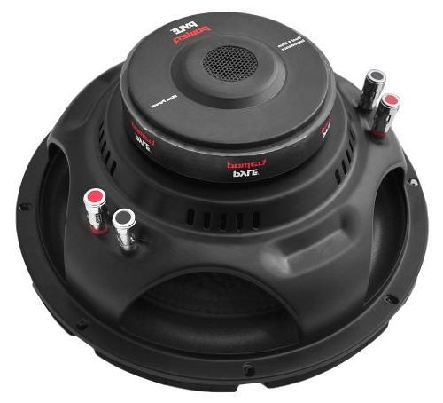 """2) 10"""" 2000W Car Audio Power 4 Ohm Black"""