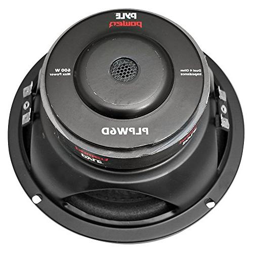 2) PYLE 1200W Coil 4-Ohm Car Subs Woofers