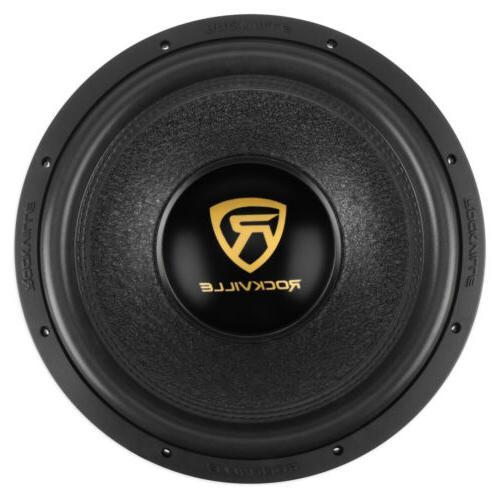 "Rockville 10"" 2000w Car Audio Subwoofer Dual 2-Ohm Sub CEA C"