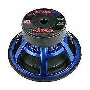 2 x 5000W Dual Ohm Pro Car Bass
