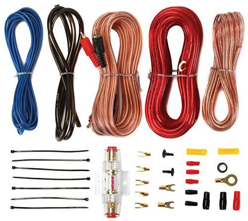 New Kicker 600W Box R1100M 1100W Amp Kit