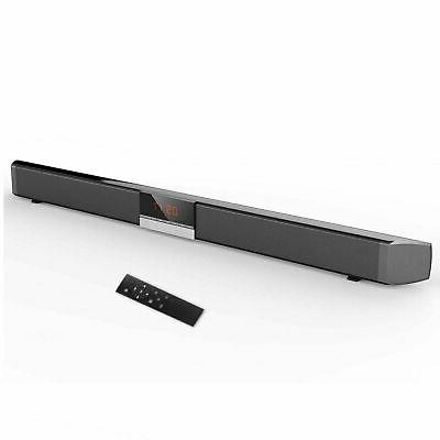 XGODY Home Theater 40W TV Bluetooth Soundbar 4.0System Subwo