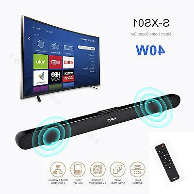 40w home 3d surround tv sound bar