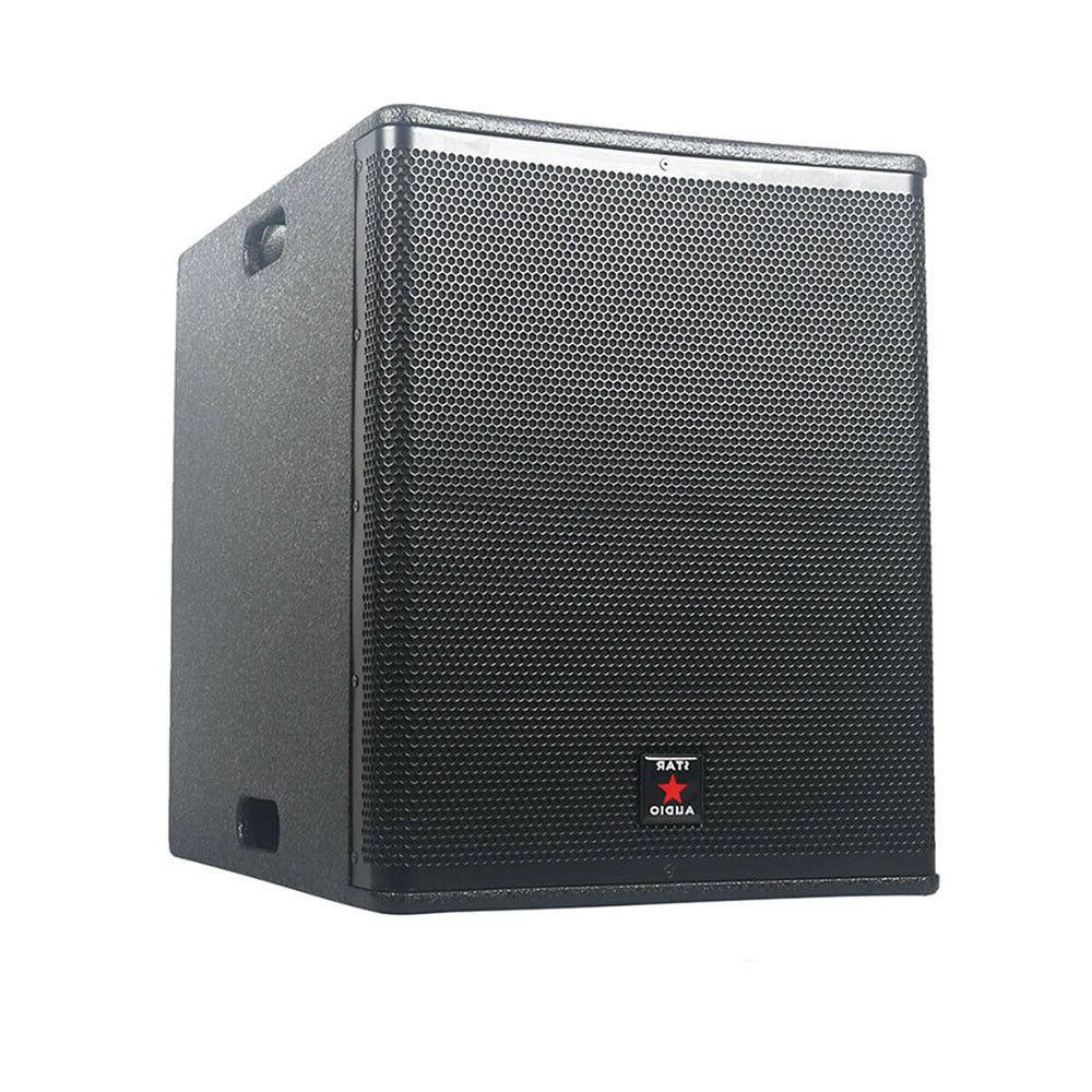 STARAUDIO 15 Inch 4500W Active Powered PA DJ Subwoofer W/DSP