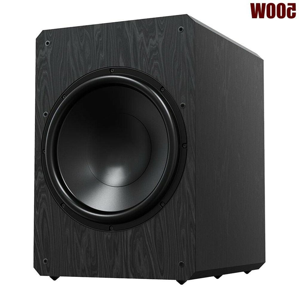500w 10 active powered subwoofer sealed sub