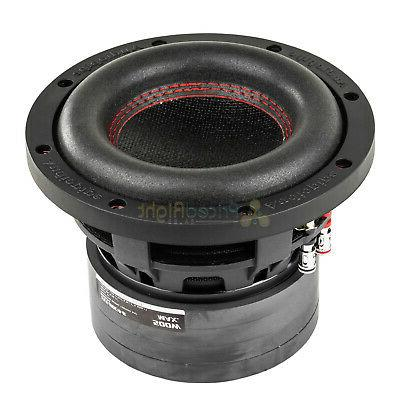 "6.5"" Subwoofer Dual 4 Ohm 500 Watts Car Audio Sub TXX-BDC4-6"