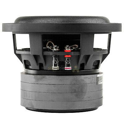 2 Pack Audiopipe Subwoofers Dual 4 Ohm 500 Watts Sub