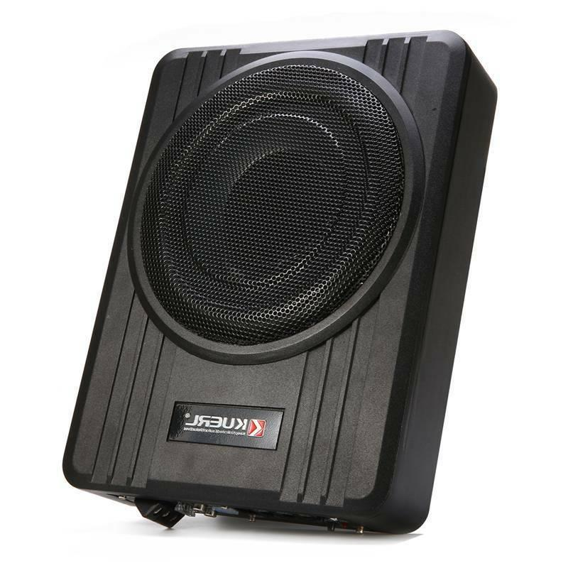 10'' Slim Active Car Audio Subwoofer Under Seat Power Supper