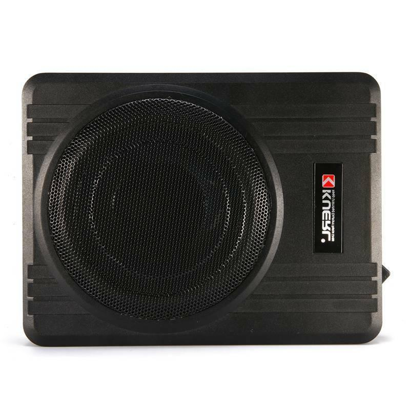 600w 10 powered car under seat subwoofer