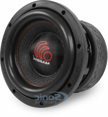 8 Inch Car Audio Subwoofer Dual 4 Ohm RMS