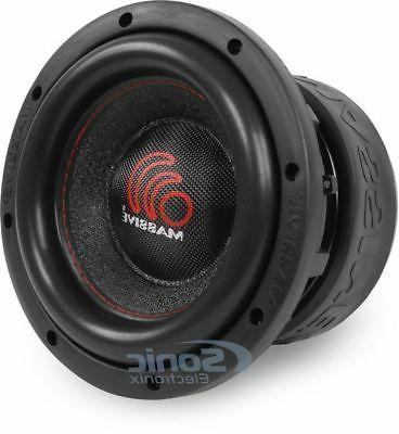 8 1000w dual 4 ohm car audio