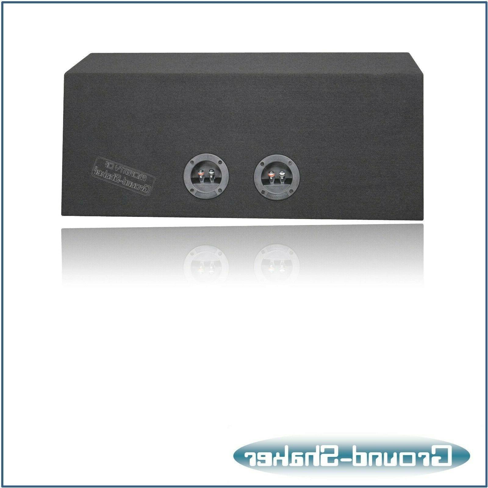 """8"""" Hatchback Sub Box Ground-shaker subwoofer Enclosure"""
