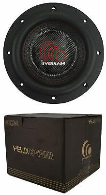 8 Inch Car Audio Subwoofer Dual Voice Coil 4 Ohm 1400W Massi