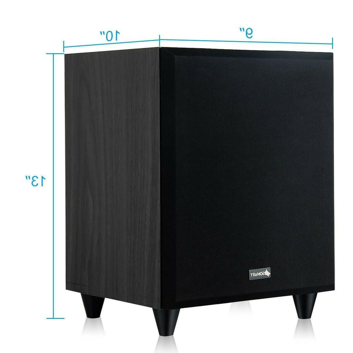 Home Powered Active 300W Front Firing Woofer
