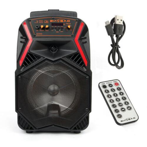 """8"""" Speaker for Karaoke w/ LED Stereo"""