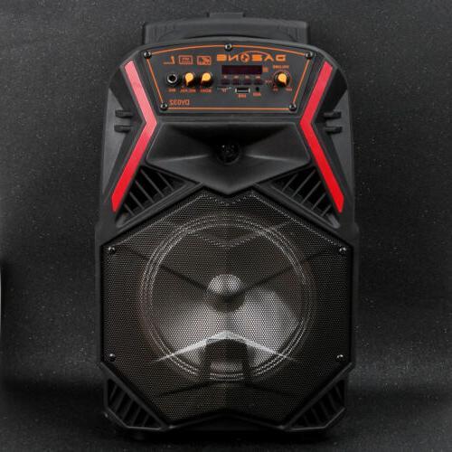 """8"""" Speaker Portable for Karaoke w/ Stereo"""