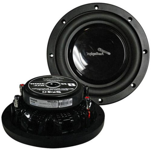 AUDIOPIPE  Audiopipe 8 Shallow Mount Woofer 300W Max 4 Ohm D