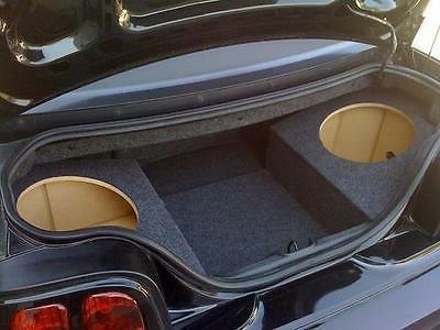 94-04 Ford Mustang Convertible Custom Sub Enclosure Subwoofer Speaker Box