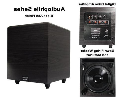 Acoustic PSW-12 500 Watt 12-Inch Powered Subwoofer
