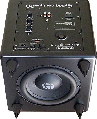 Audioengine S8 Black Powered Subwoofer