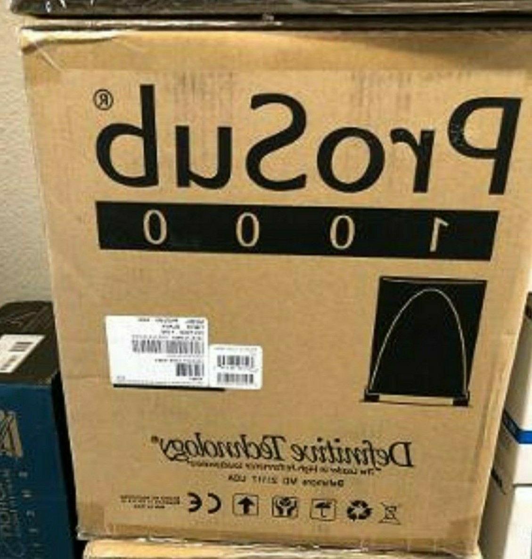 Definitive Technology ProSub 1000 120v Speaker