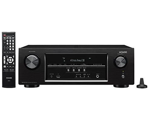 Denon AVR-S510BT 5.2 Channel Full 4K Ultra HD AV Receiver wi