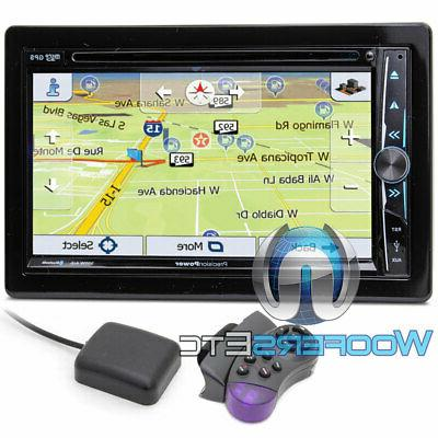 "KENWOOD EXCELON DDX595 DVD CD 6.2"" SCREEN BLUETOOTH USB WAZE"