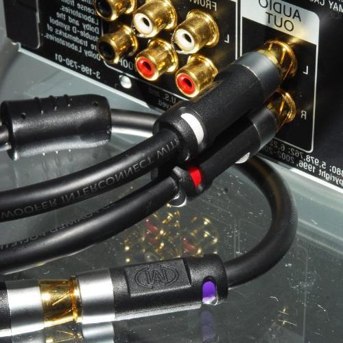 Mediabridge Series Y-Adapter - 1-Female to 2-Male or Subwoofer