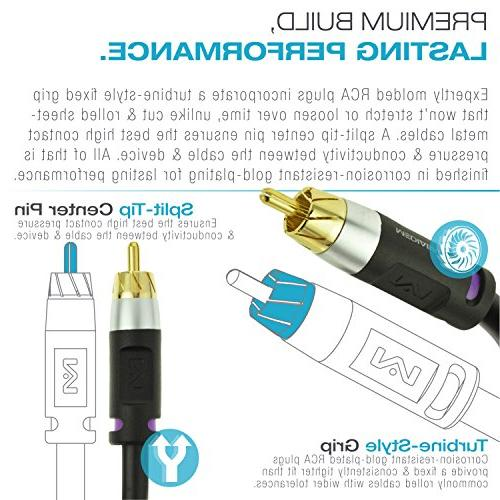 Mediabridge ULTRA Series Cable - Dual Shielded with Gold to Connectors Black